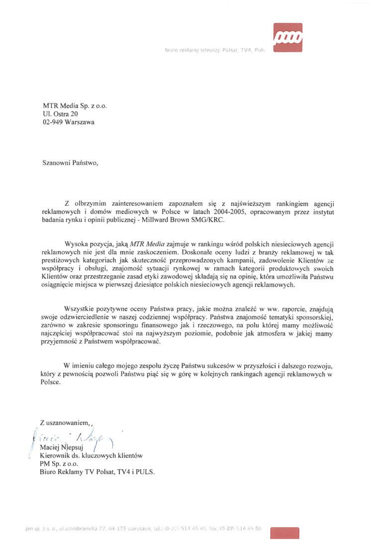 Rekomendacja - TVPOLSAT